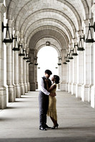 Maryland Engagement Photography and Portraits at Union Station by Goody Two Shoes Photography Studio