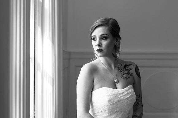 Bride Portrait wedding photography in Bethesda, Maryland by Goody Two Shoes Photography Studio